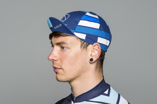 Warsaw Cycle Cap Blue