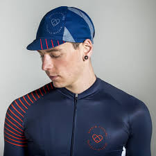 Warsaw Cycle Cap Navy